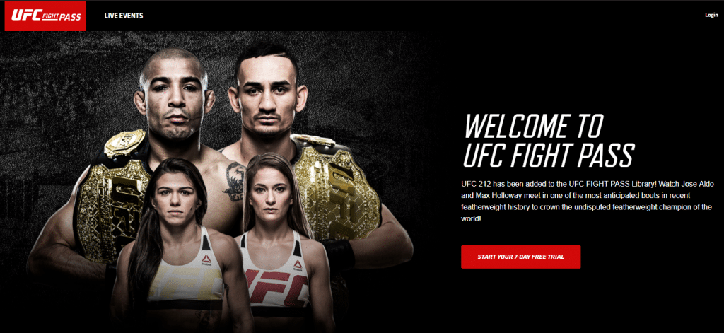 ufc fight pass ufc without cable