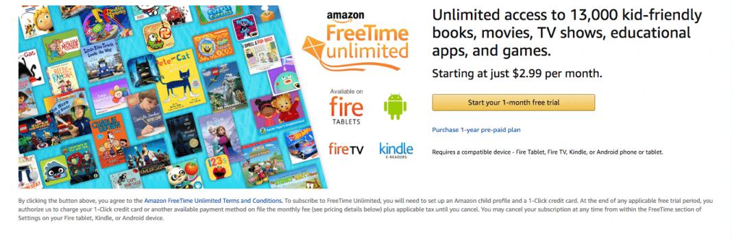 FreeTime parental controlled media for kids