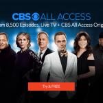 CBS All Access Banner