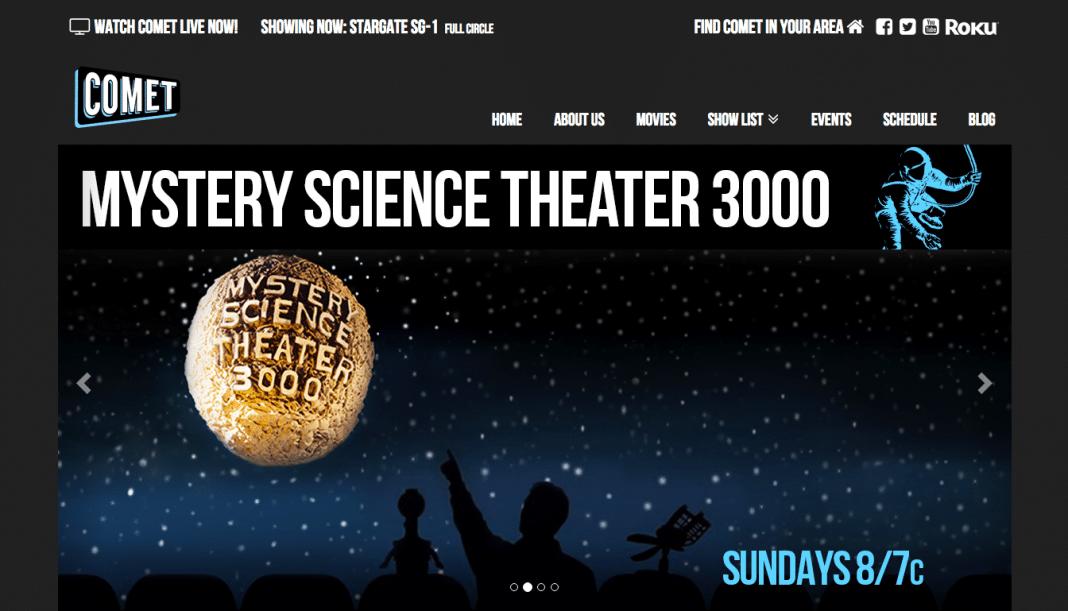 CometTV science fiction classics