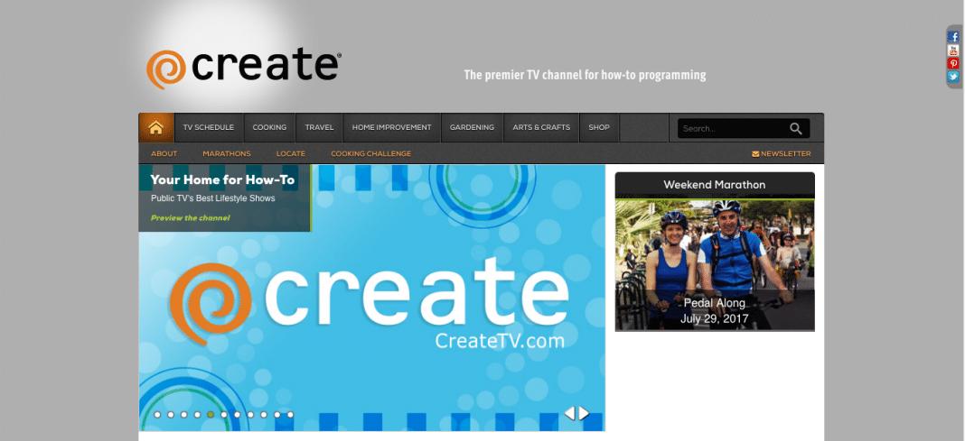 CreateTV for public TV and DIY