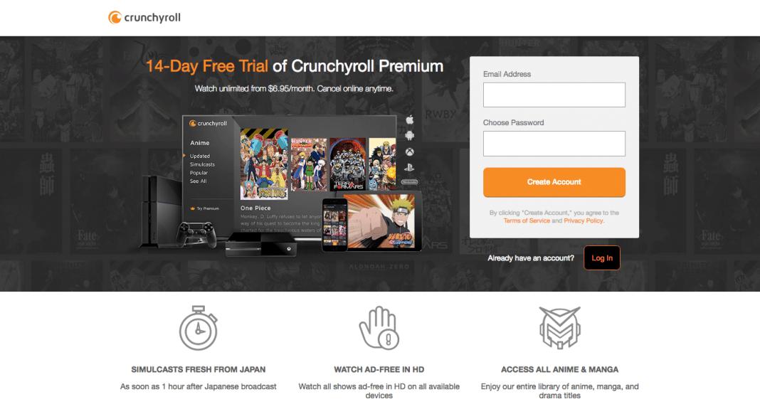 Crunchyroll Free Trial