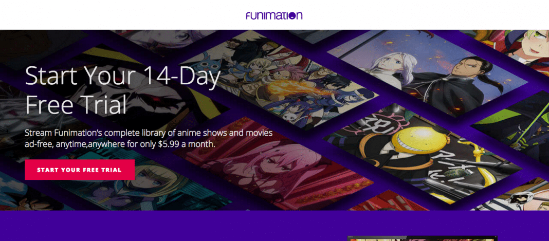 how to cancel funimation free trial