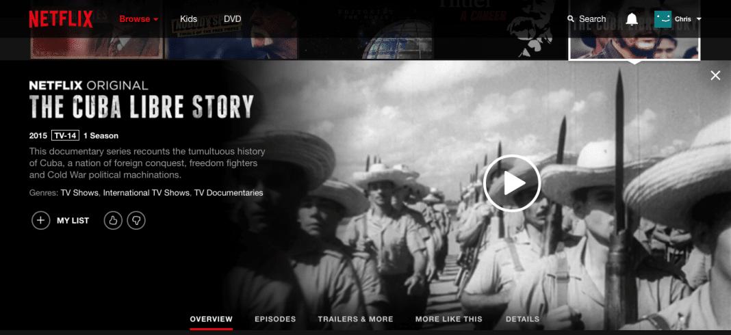 Netflix Cuba Libre Story