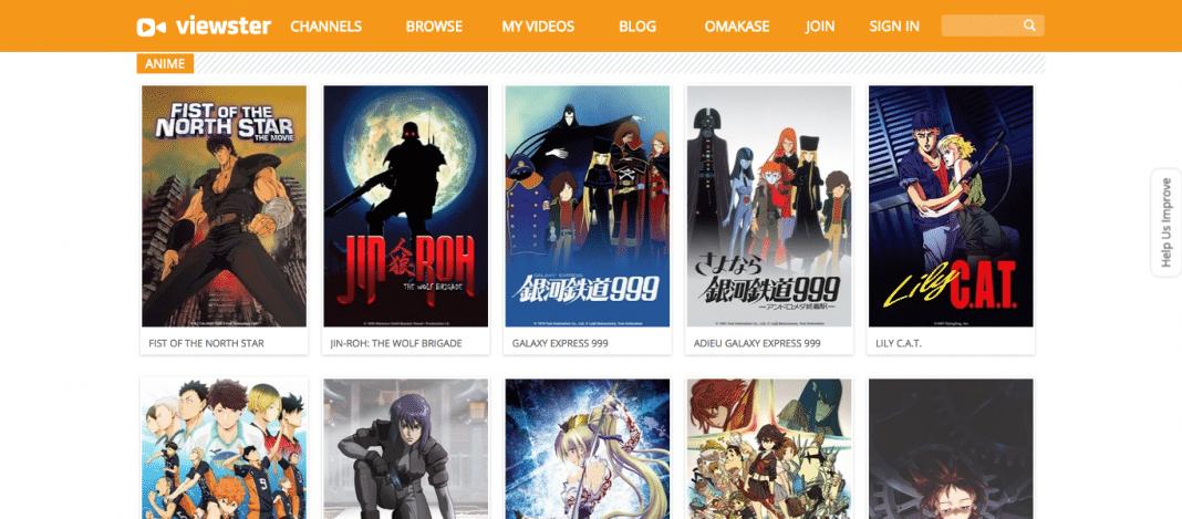 Viewster – Anime free anime app