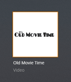 oldmovietime plex channel screenshot