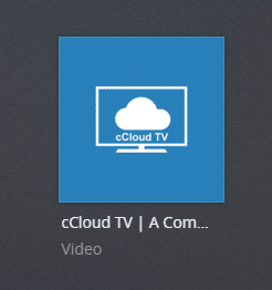 ccloudtv plex channel screenshot