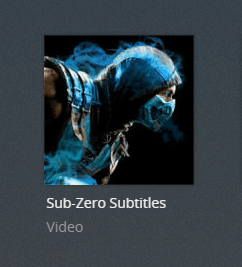 subzero plex channel screenshot