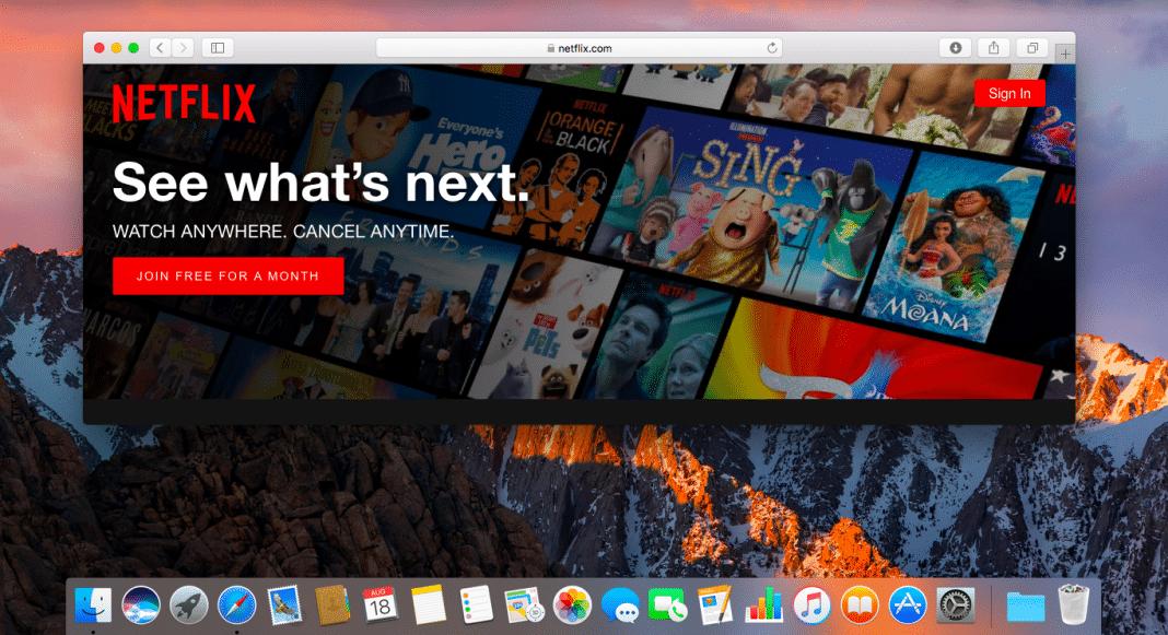 American Netflix on Macs