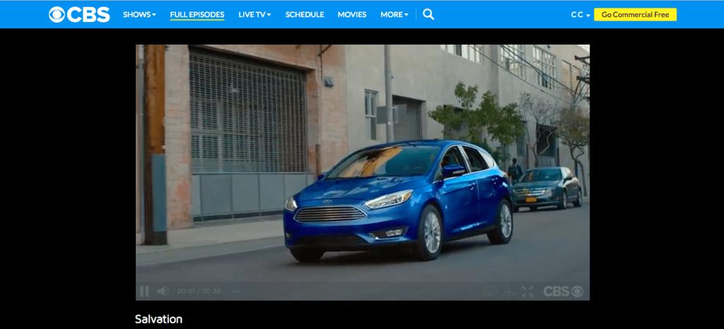 CBS ads