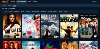 FuboTV on demand movies