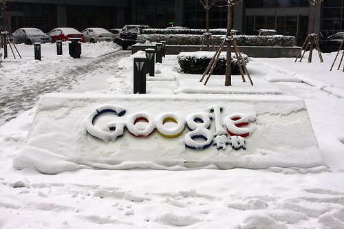Google frozen out of China