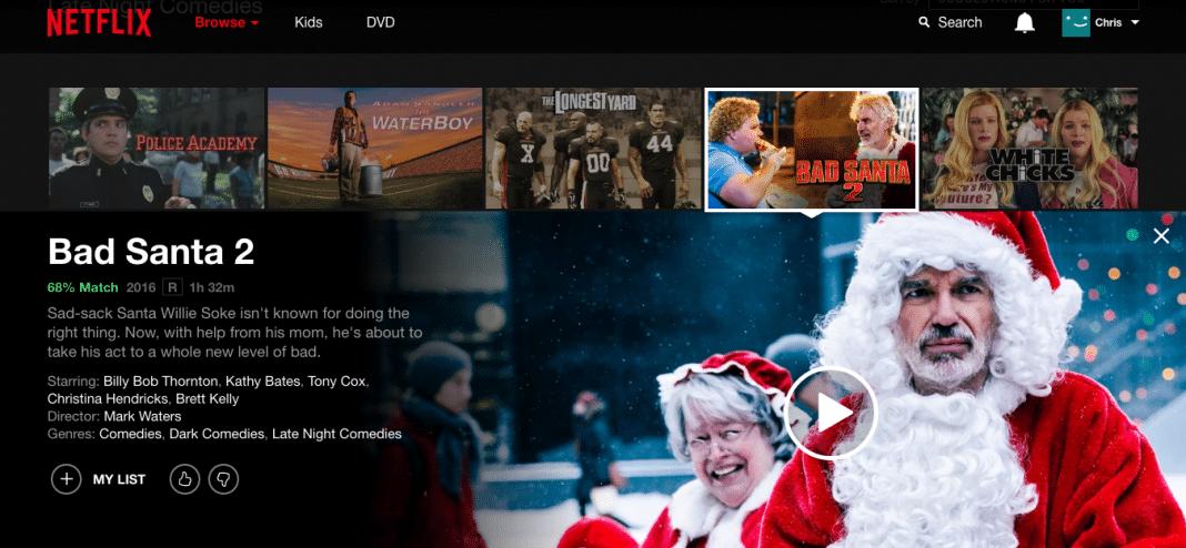Bad Santa 2 on Netflix