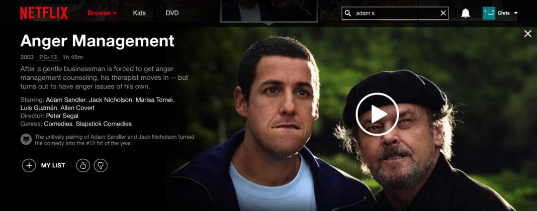 Anger Management on Netflix