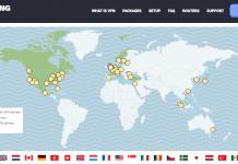 StrongVPN server locations