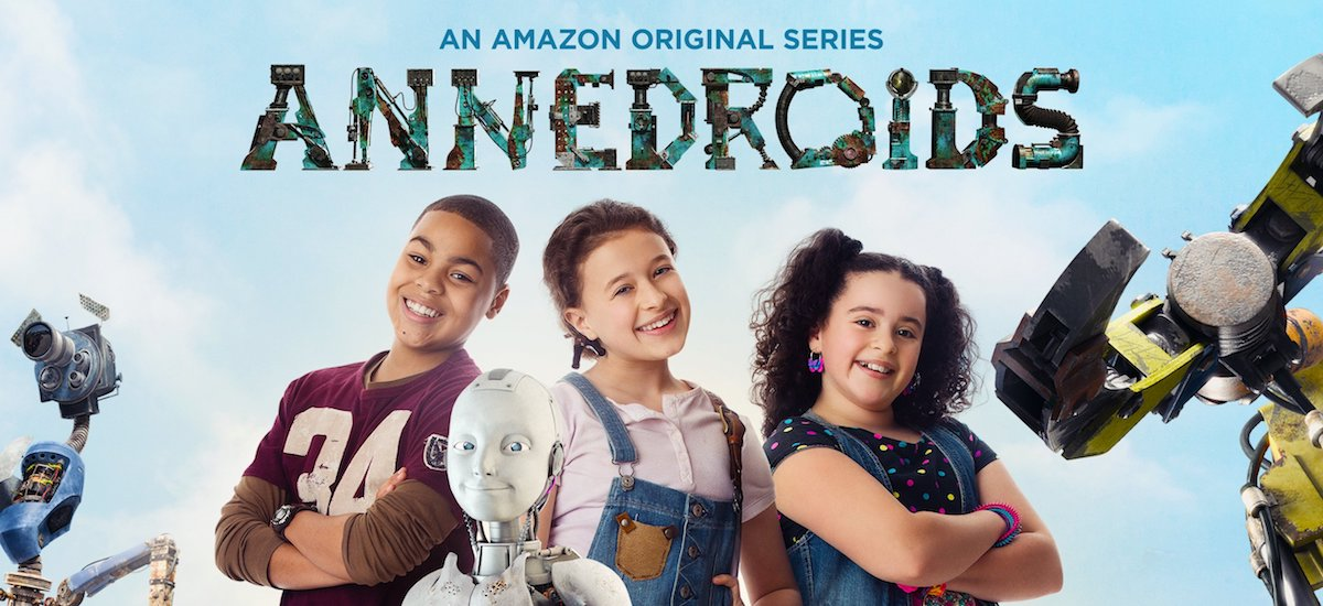 Annedroids on Amazon