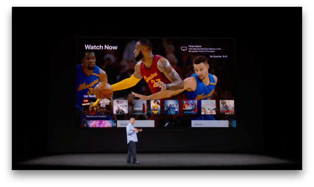 Live sports on Apple TV