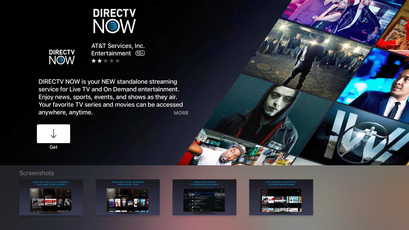 DirecTV on Apple TV