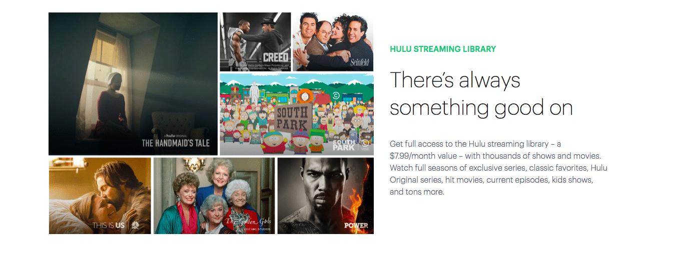 Hulu on-demand