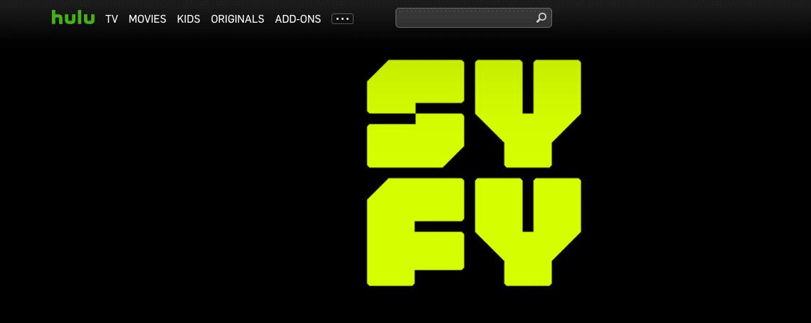 Syfy on Hulu