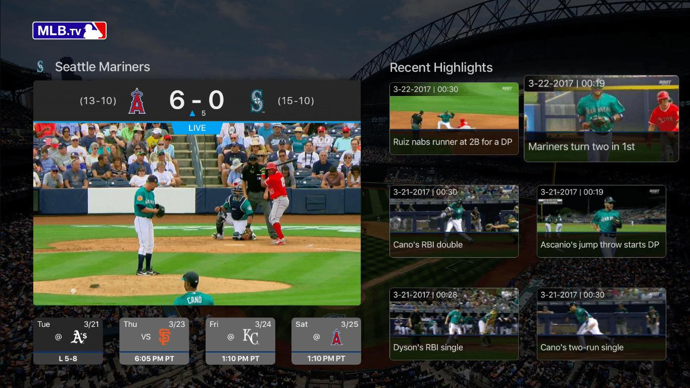 MLB on Apple TV