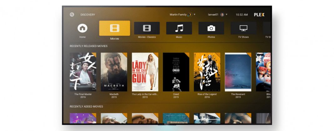 Plex for Kodi Add-on