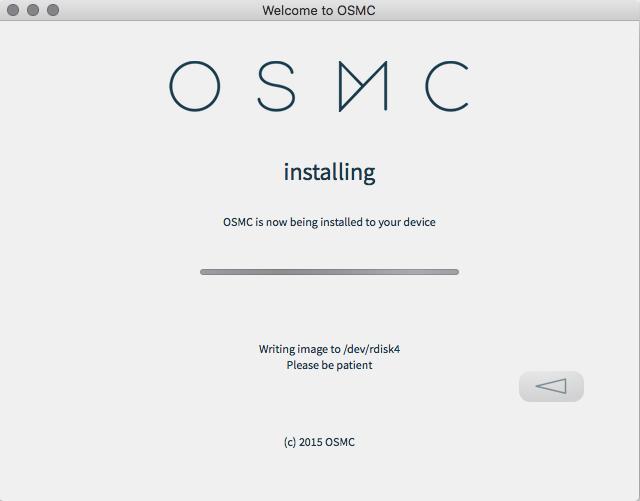 sd card burning installation osmc