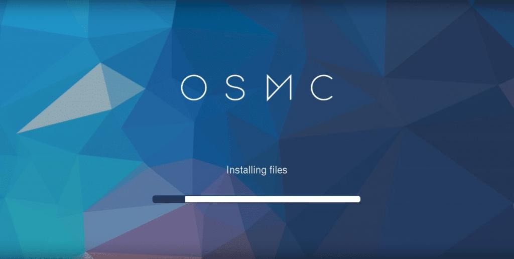 osmc installation menu