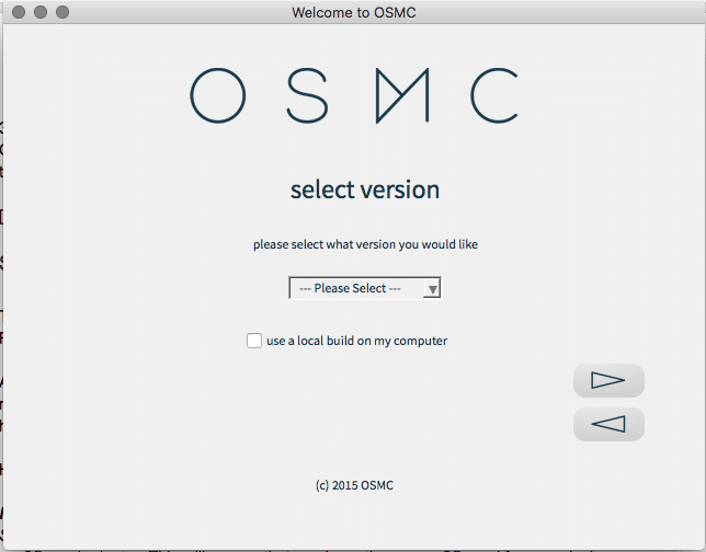 raspberry pi 3 osmc install