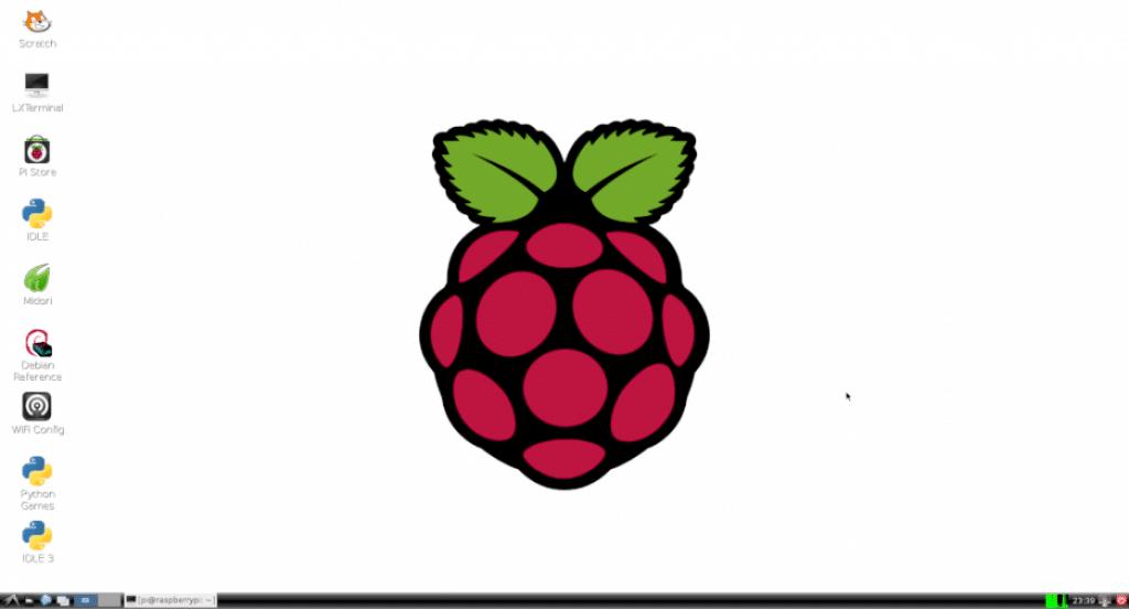 raspbian GUI desktop