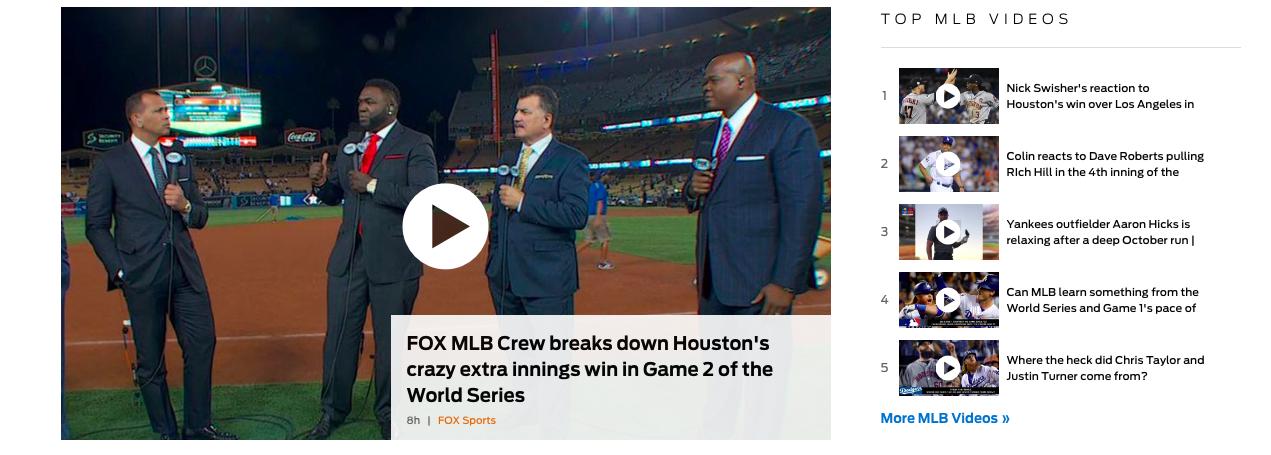 World Series on Fox