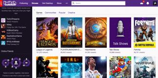 Twitch directory