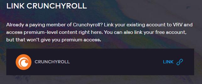 link crunchyroll