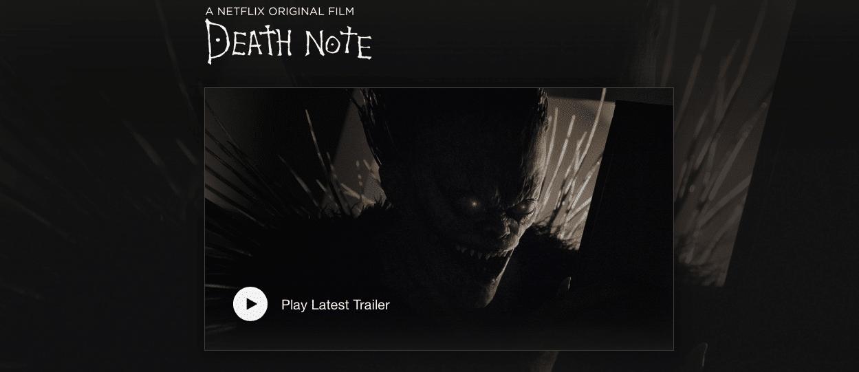 Death Note failed whitewashing
