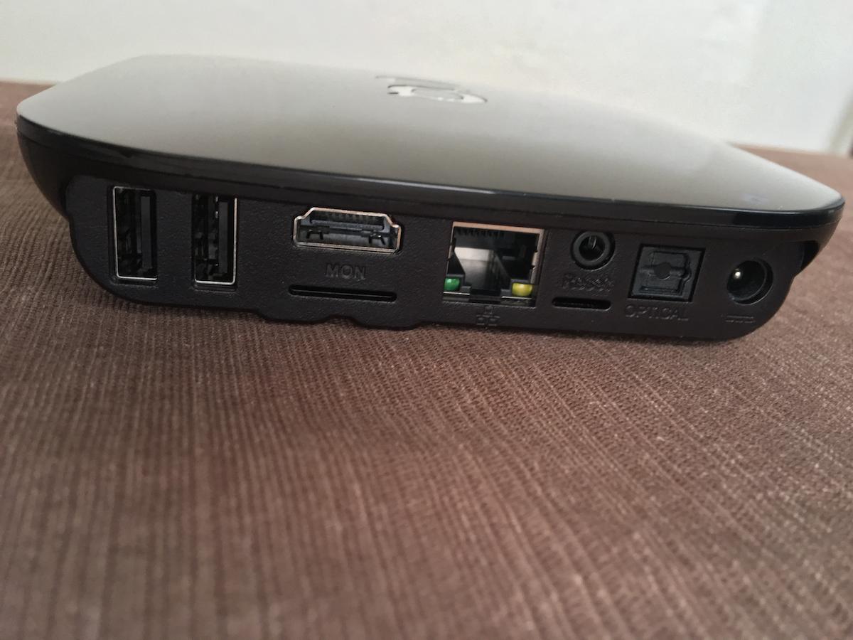 G-Box Q3 Ports