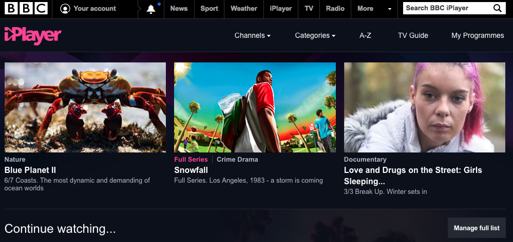 iplayer in canada