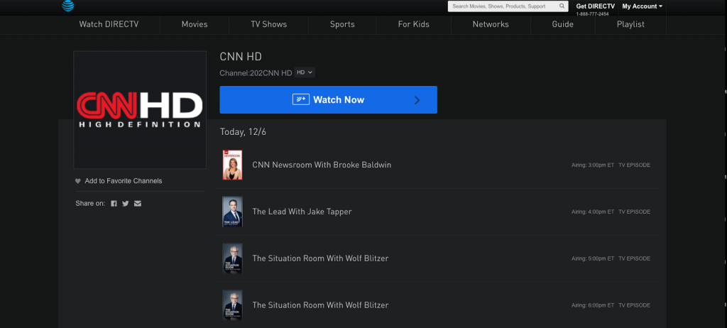 Watch CNN HD live streaming cable alternative cord-cutting news