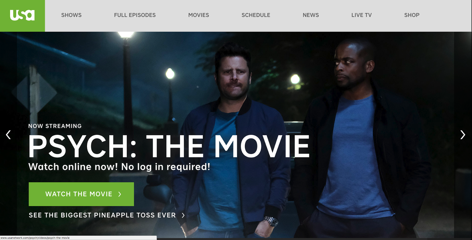 How to Watch USA Network without Cable