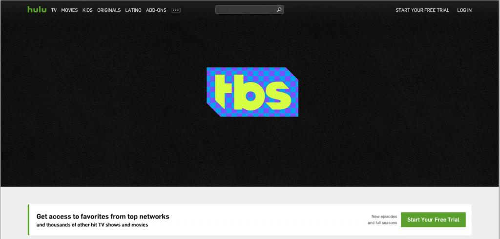 Hulu with live tv streaming tbs alternative live