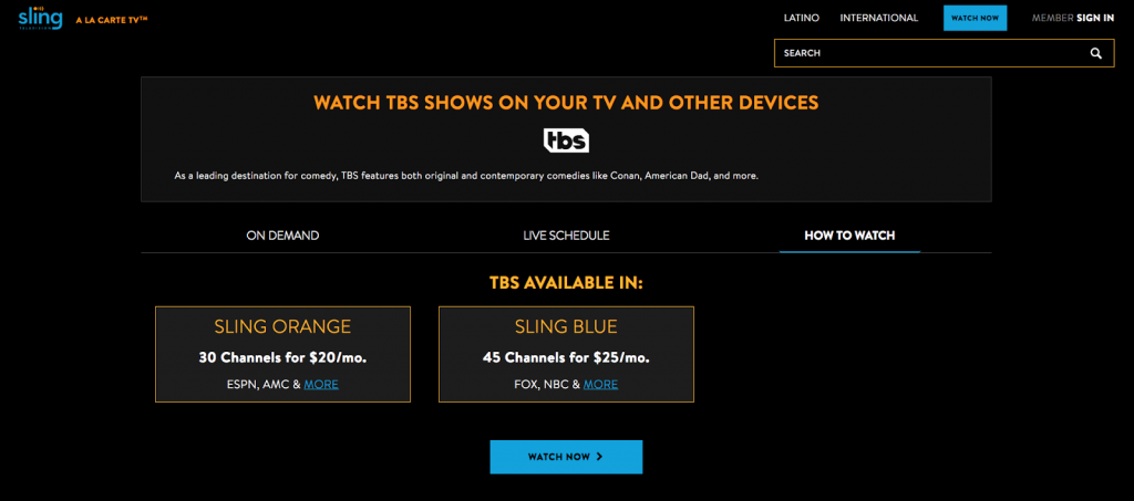 How to Watch TBS Without Cable 2019 - Your Top 7 Options