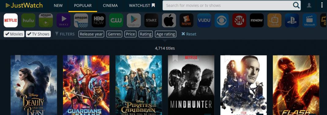 Justwatch Netflix
