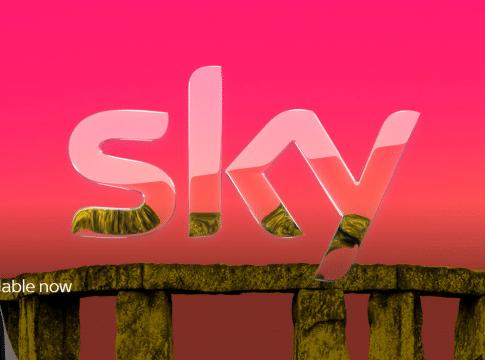Sky TV home page