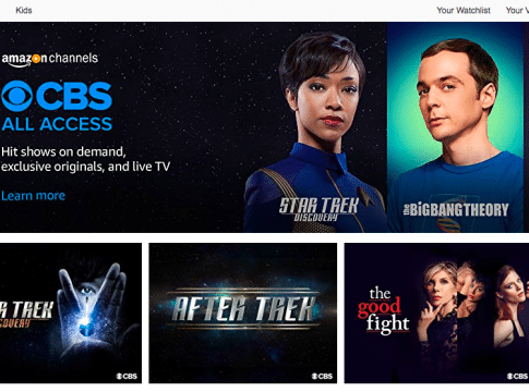 CBS All Access With Live TV Added to Amazon Prime Video Channels