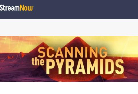 Scanning the Pyramids on CuriosityStream