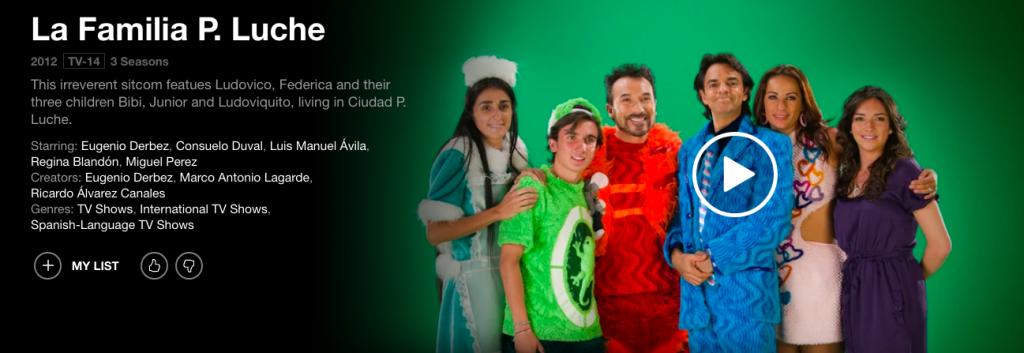 Univision programs on Netflix