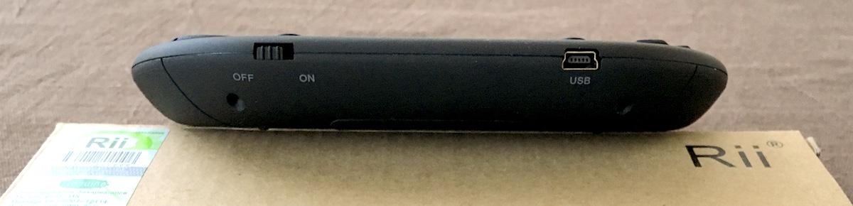 Rii i8+ front ports