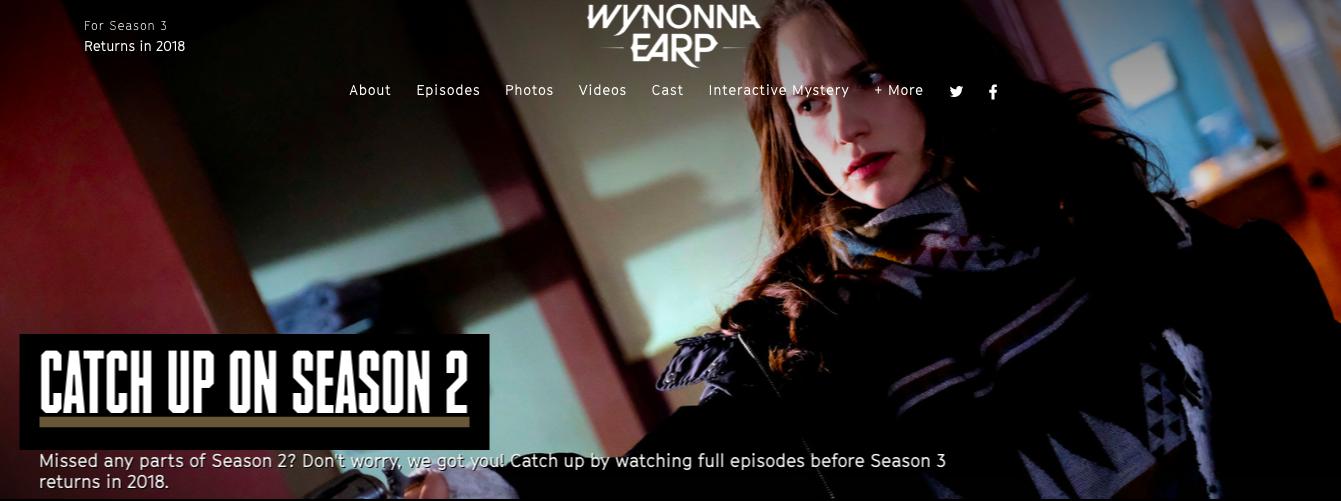 Wynonna Earp on Syfy