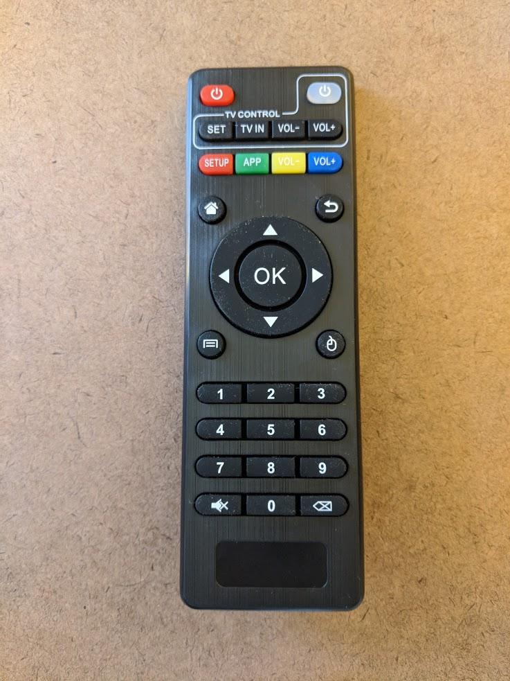 mx pro remote control input unboxing