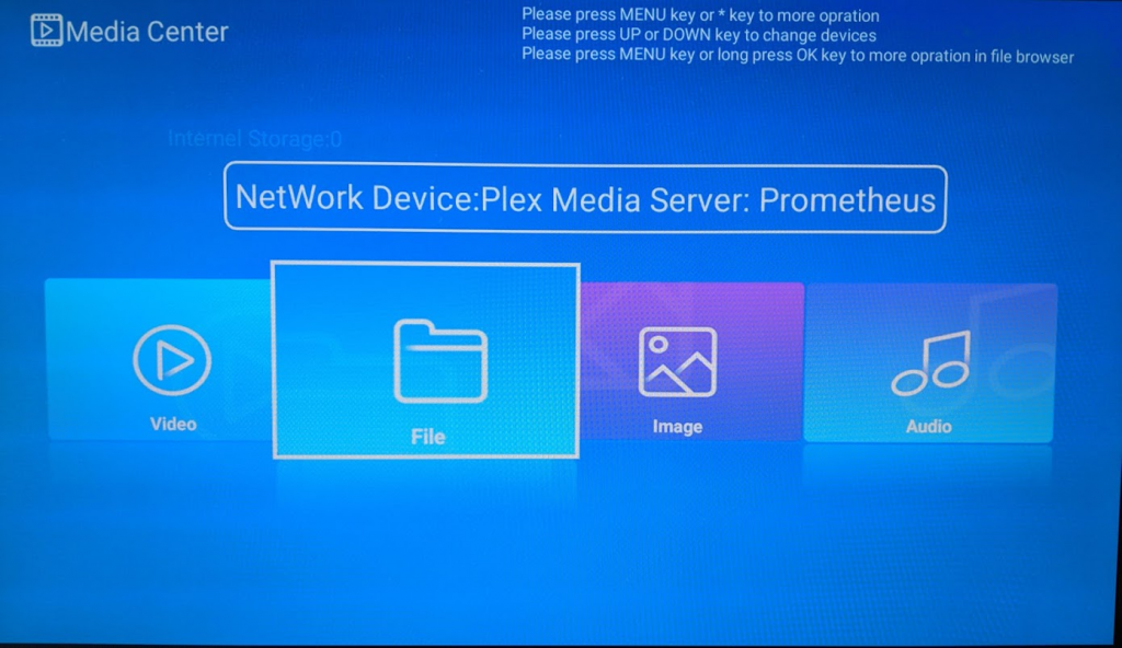 media center network stream mx pro video playback review