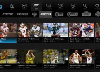 ESPN on Sling